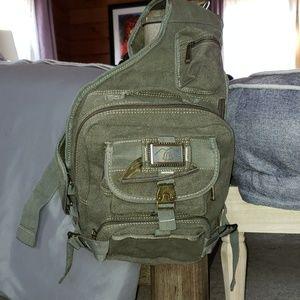 Handbags - Crossbody military style bag